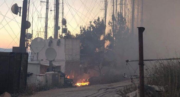 Κάηκαν οι εγκαταστάσεις του Love Radio στον Υμηττό – Δείτε φωτογραφίες   panathinaikos24.gr