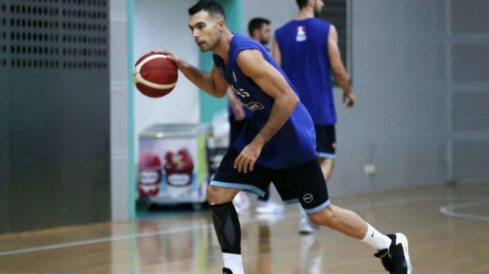 Με ειδικό προστατευτικό στο πόδι η πρώτη προπόνηση του Σλούκα (pics) | panathinaikos24.gr