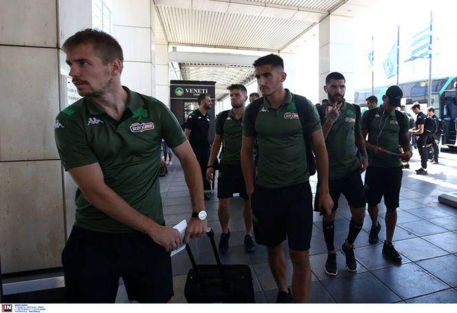Αναχώρησε για Θεσσαλονίκη ο Παναθηναϊκός (Pics) | panathinaikos24.gr