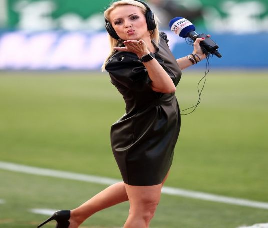 Αναστάτωσε το ΟΑΚΑ η Λίλα Κουντουριώτη (pics) | panathinaikos24.gr