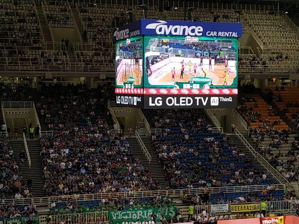 Σποτάκι για το PAO ALIVE στο jumbotron  του ΟΑΚΑ | panathinaikos24.gr