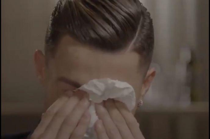 Έβαλε τα κλάματα on camera ο Ρονάλντο (vid) | panathinaikos24.gr