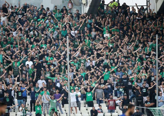 Οπαδοί του Παναθηναϊκού στο Κορωπί | panathinaikos24.gr