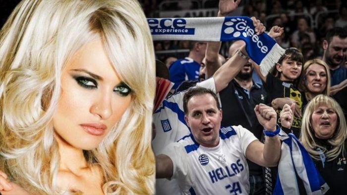 Η Εθνική έχασε, η εντυπωσιακή ξανθιά οπαδός της σάρωσε (Pics)   panathinaikos24.gr