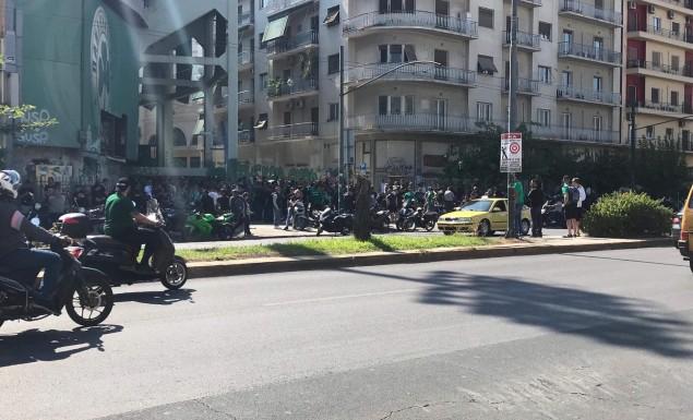 Μαζεύεται ο κόσμος του Παναθηναϊκού για το συλλαλητήριο: «Λευτεριά στην ΠΑΕ» (pic) | panathinaikos24.gr