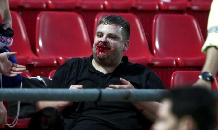 Σοκαριστικές εικόνες με ματωμένα κεφάλια στο Ολυμπιακός-Μπάγερν για το Youth League! (pics) | panathinaikos24.gr