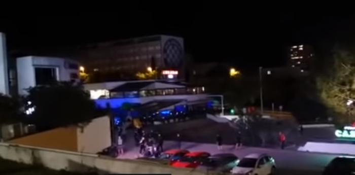 Επεισόδια μεταξύ Κροατών και Ούγγρων χούλιγκαν (vid)   panathinaikos24.gr