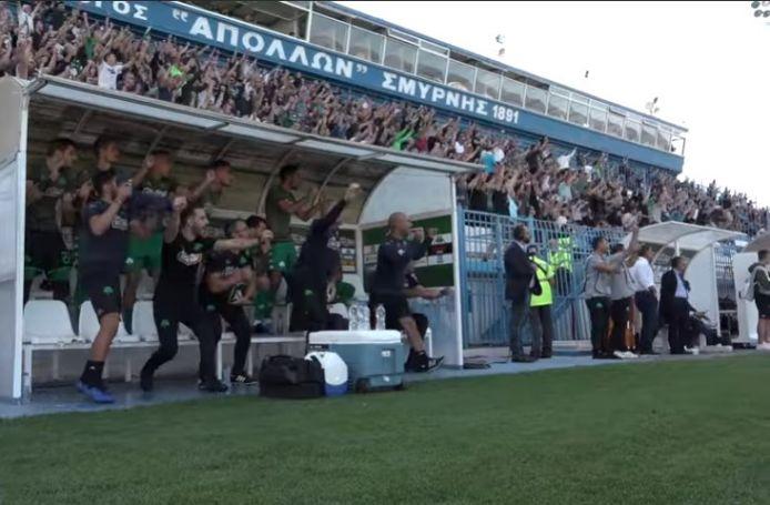 Η αντίδραση στο γκολ που ακυρώθηκε, η αγωνία και τα πλάνα από τα αποδυτήρια  (vid) | panathinaikos24.gr