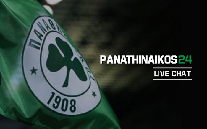 LIVE CHAT με τον Διονύση Δεσύλλα για τον Παναθηναϊκό | panathinaikos24.gr