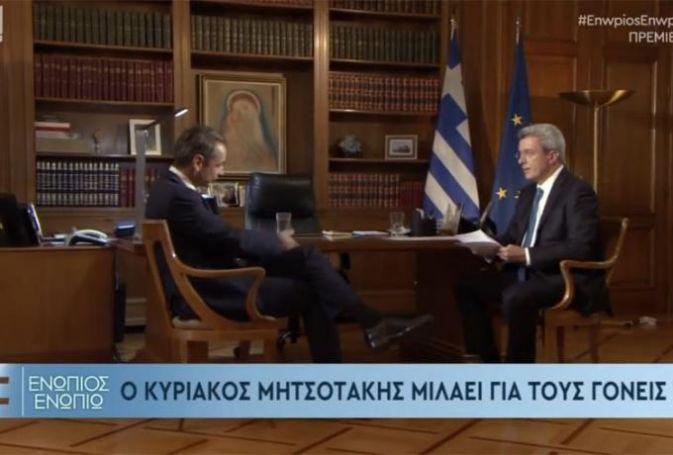 «Ντου» στον Χατζηνικολάου για τη συνέντευξη Μητσοτάκη – Xαμός στο twitter | panathinaikos24.gr