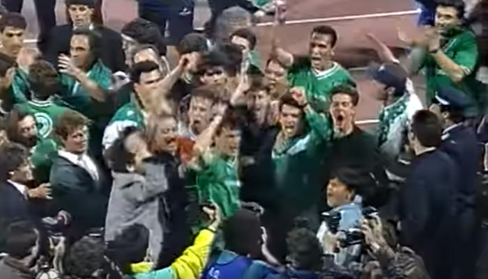 Ανατριχίλα: Δώνης, Καλιτζάκης, Μαραγκός, Ουζουνίδης φωνάζουν «ΠΑΟ ΟΛΕ»! (vid) | panathinaikos24.gr