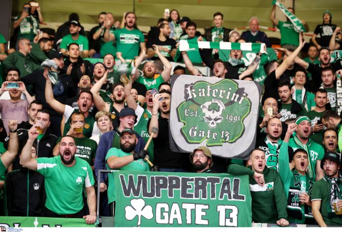 Τρομερή η πράσινη κερκίδα στο Μόναχο! (pic) | panathinaikos24.gr