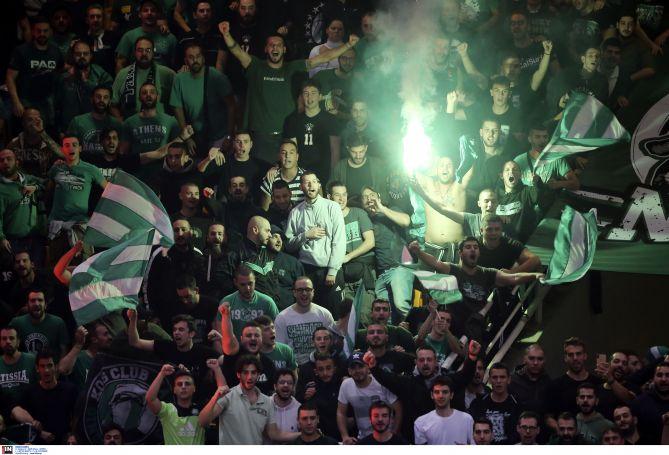 Στο πόδι το ΟΑΚΑ με συνθήματα για Πιτίνο, Καλάθη και Γιαννακόπουλο | panathinaikos24.gr