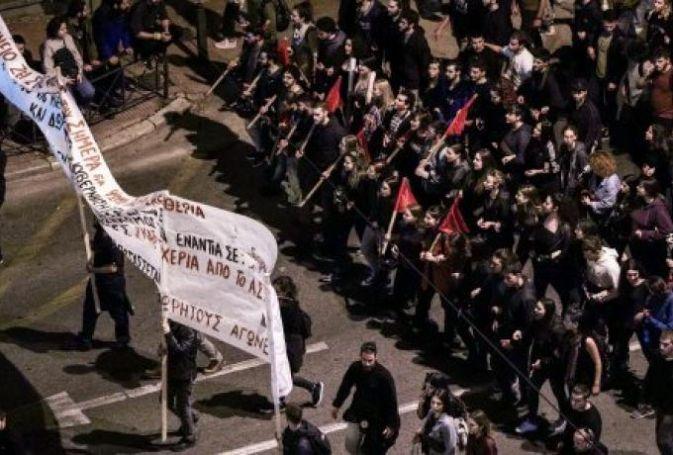 Πολυτεχνείο: Ένταση στην πορεία – Ήρθαν στα χέρια ΚΚΕ και ΣΥΡΙΖΑ   panathinaikos24.gr