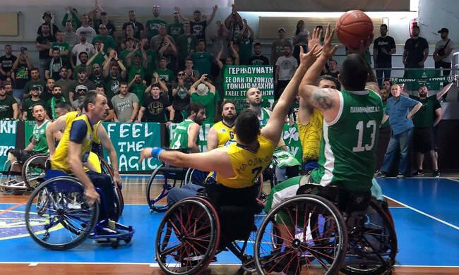 Στην Α1 η ομάδα μπάσκετ με αμαξίδιο του Παναθηναϊκού! | panathinaikos24.gr