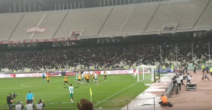 Νέο βίντεο από την κερκίδα: Το γκολ του Κολοβέτσιου και το ξέσπασμα! (vid) | panathinaikos24.gr