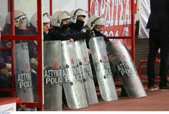 Ενώσεις Αστυνομικών Υπαλλήλων Αθηνών και Πειραιά: «Από τύχη ο συνάδελφός μας γλίτωσε το μάτι του στο Καραϊσκάκης»   panathinaikos24.gr