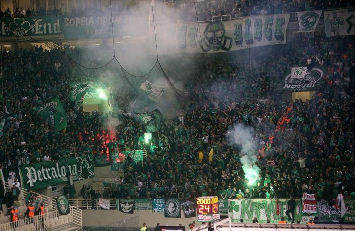 Πανζουρλισμός στο ΟΑΚΑ μετά το τέλος του ντέρμπι (Vid)   panathinaikos24.gr