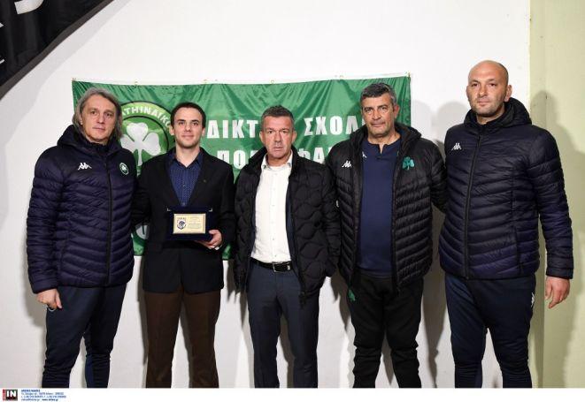Στα Ιωάννινα και σε σχολές ποδοσφαίρου ο Σαραβάκος (pics) | panathinaikos24.gr