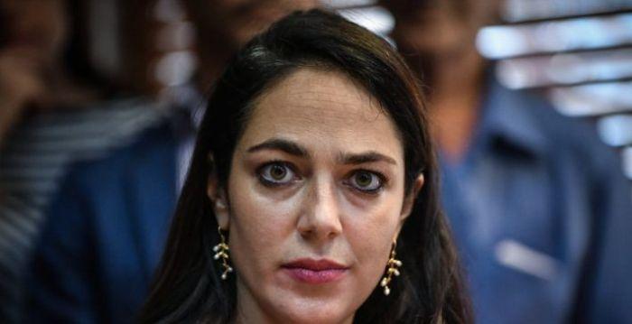Ανοιχτό ντεκολτέ και πλάτη! Η υπουργός Δόμνα Μιχαηλίδου όπως δεν την έχουμε ξαναδεί (Pic) | panathinaikos24.gr