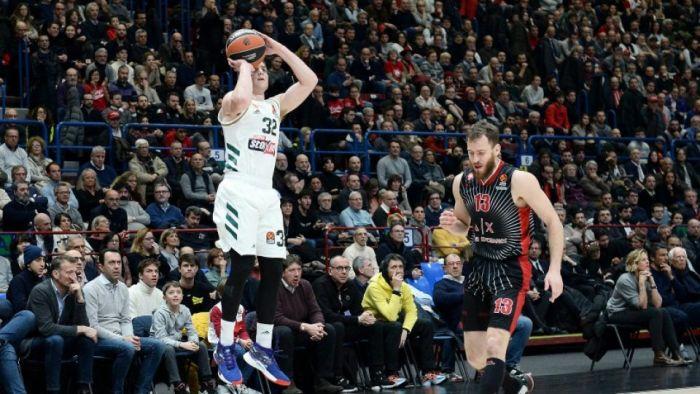 Ρεκόρ καριέρας στη Euroleague ο Φριντέτ αλλά…   panathinaikos24.gr