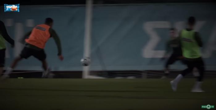 Η γκολάρα του Ανουάρ στην προπόνηση (vid) | panathinaikos24.gr