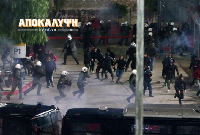 ΑΠΟΚΑΛΥΨΗ: Τραυματισμός αστυνομικού στις συμπλοκές με οπαδούς του Ολυμπιακού στο Καραϊσκάκη! | panathinaikos24.gr