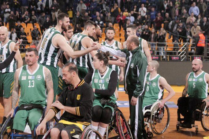 Παναθηναϊκός ΑμεΑ – Δωδεκάνησος: LIVE STREAMING | panathinaikos24.gr