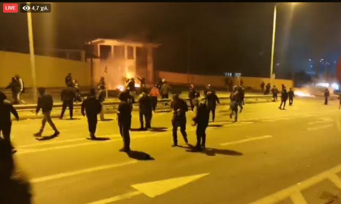 LIVE βίντεο από τα όσα γίνονται στη Λέσβο (vid) | panathinaikos24.gr