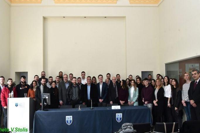 O Πιτίνο στο IST College | panathinaikos24.gr