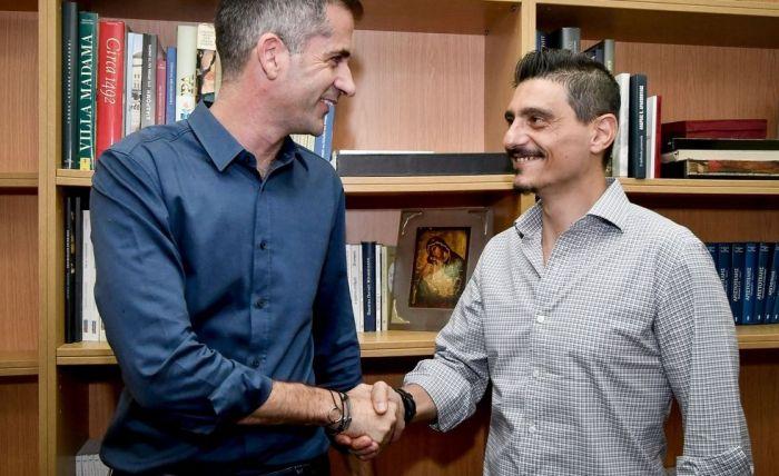 Συναντήθηκαν Γιαννακόπουλος – Μπακογιάννης   panathinaikos24.gr