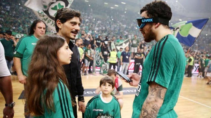 Παναθηναϊκός: «Πράσινη» ανάρτηση από Τζέιμς με Γιαννακόπουλο (Pic)   panathinaikos24.gr