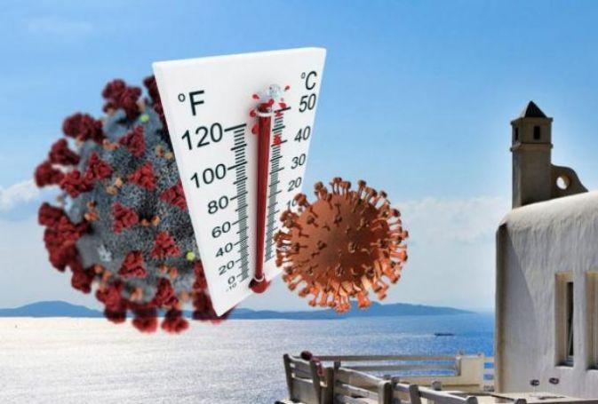 Επίπεδα καλοκαιριού Ελλάδας: Πώς αντέδρασε ο κορωνοϊός σε 6 χώρες με θερμοκρασία άνω των 27°C | panathinaikos24.gr