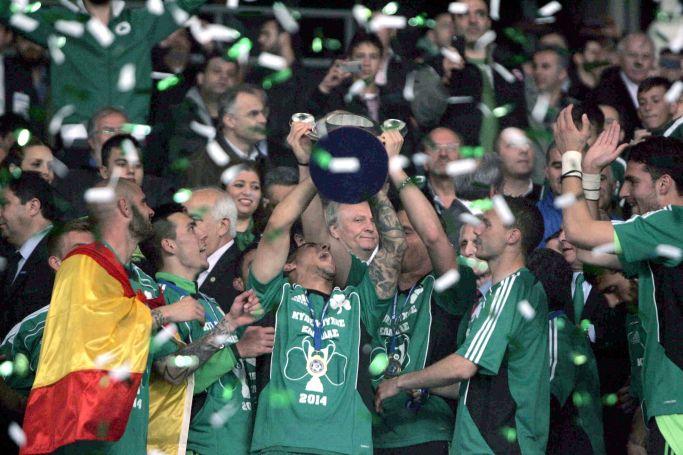 Παναθηναϊκός: Κύπελλο με one man show Μπεργκ! (Pics, Vid) | panathinaikos24.gr