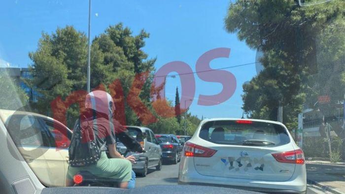 Απίστευτο μποτιλιάρισμα στην Παραλιακή (pic)   panathinaikos24.gr