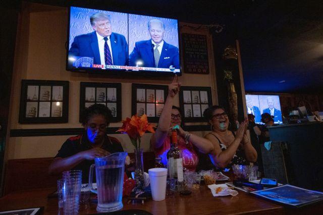 Δημοσκόπηση: Ενόχληση για το χαοτικό debate Τραμπ και Μπάιντεν – Ποιος κέρδισε τις εντυπώσεις | panathinaikos24.gr