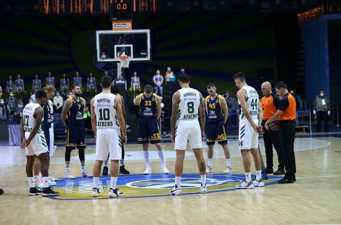 """Το """"ΠΑΟ"""" των παικτών στα αποδυτήρια της Μόσχας (vid)   panathinaikos24.gr"""