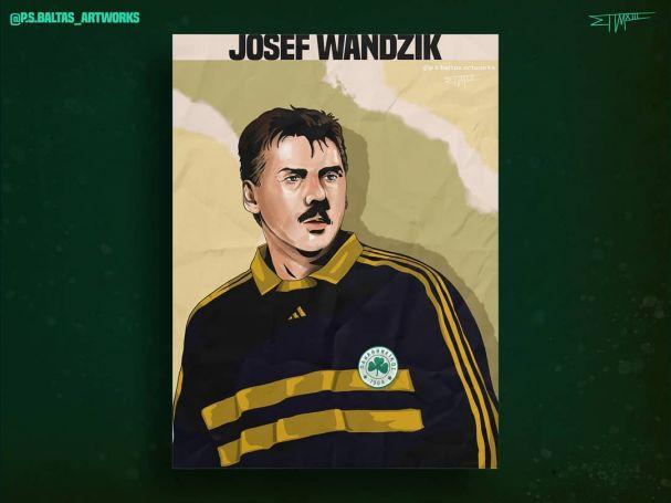 Το εκπληκτικό σκίτσο του Γιόσεφ Βάντσικ (pic) | panathinaikos24.gr