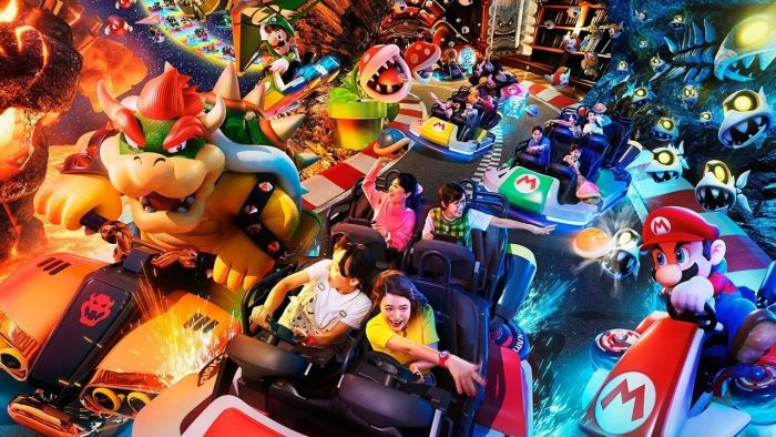 Ανοίγει τις πύλες του το θεματικό πάρκο Super Nintendo World | panathinaikos24.gr