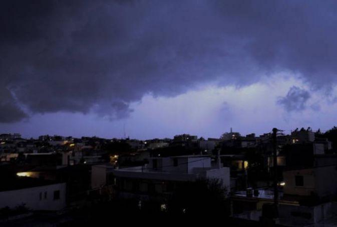 Έκτακτο δελτίο επικίνδυνων καιρικών φαινομένων: Ισχυρές βροχές και καταιγίδες από το απόγευμα (vid)   panathinaikos24.gr