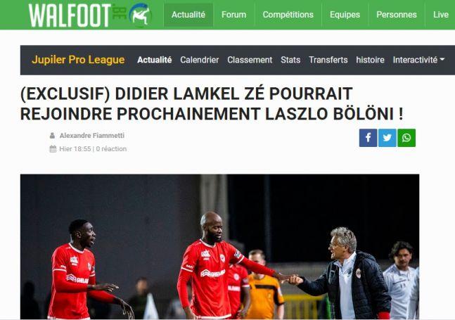 Οι Βέλγοι αποκάλυψαν επαφές του Παναθηναϊκού με τον Λαμκέλ Ζε! | panathinaikos24.gr