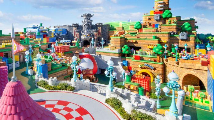 Πρώτο επίσημο video από το Super Nintendo World Theme Park | panathinaikos24.gr