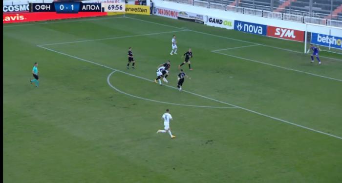 ΟΦΗ-Απόλλων: 0-2 με καταπληκτική ενέργεια του Ντάουντα (vid) | panathinaikos24.gr