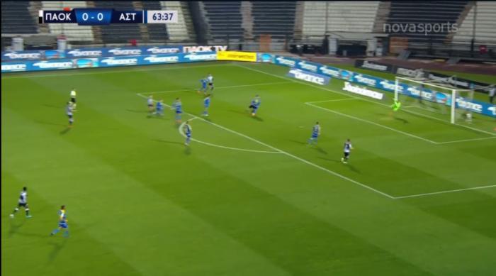 Πανέμορφο γκολ από τον Τζόλη για το 1-0 του ΠΑΟΚ κόντρα στον Αστέρα (vid)   panathinaikos24.gr
