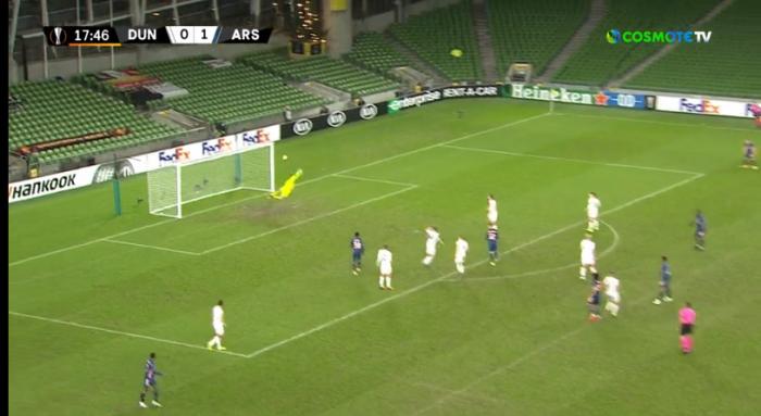 Ντάνταλκ – Άρσεναλ: Τρομερό γκολ του Ελνενί για το 2-0! (vid) | panathinaikos24.gr