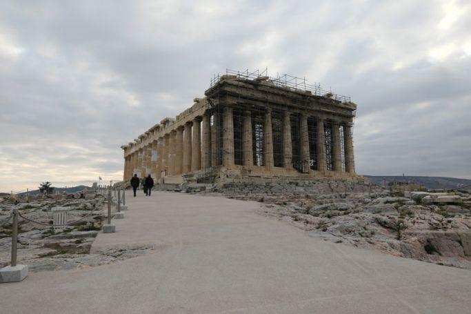 Απίθανο: Πλημμύρισε η «τσιμεντωμένη» Ακρόπολη (vid) | panathinaikos24.gr