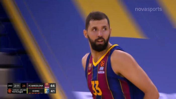 Μπαρτσελόνα-Χίμκι 84-74: Τα στιγμιότυπα της αναμέτρησης (vid) | panathinaikos24.gr