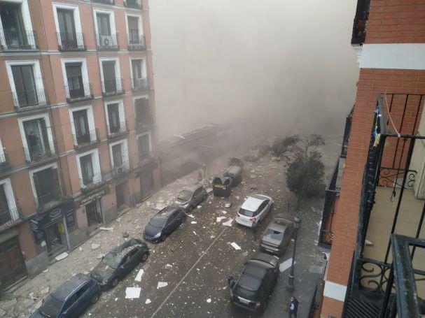 Έκτακτο: Ισχυρή εκρηξη στη Μαδρίτη! (vid)   panathinaikos24.gr