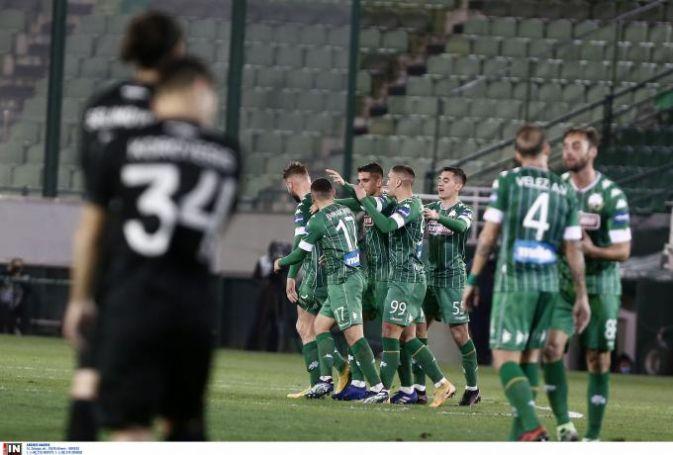 Αήττητος ο Παναθηναϊκός το 2021: η βαθμολογία της Super League   panathinaikos24.gr