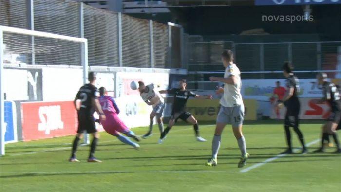 ΟΦΗ-ΑΕΚ: 0-1 με κεφαλιά του Σάκχοφ (vid) | panathinaikos24.gr